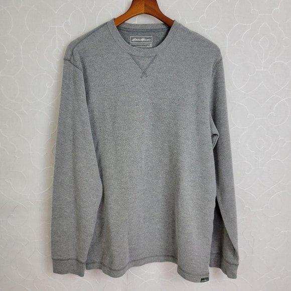 Eddie Bauer Men's Ribbed Long Sleeve Sweatshirt